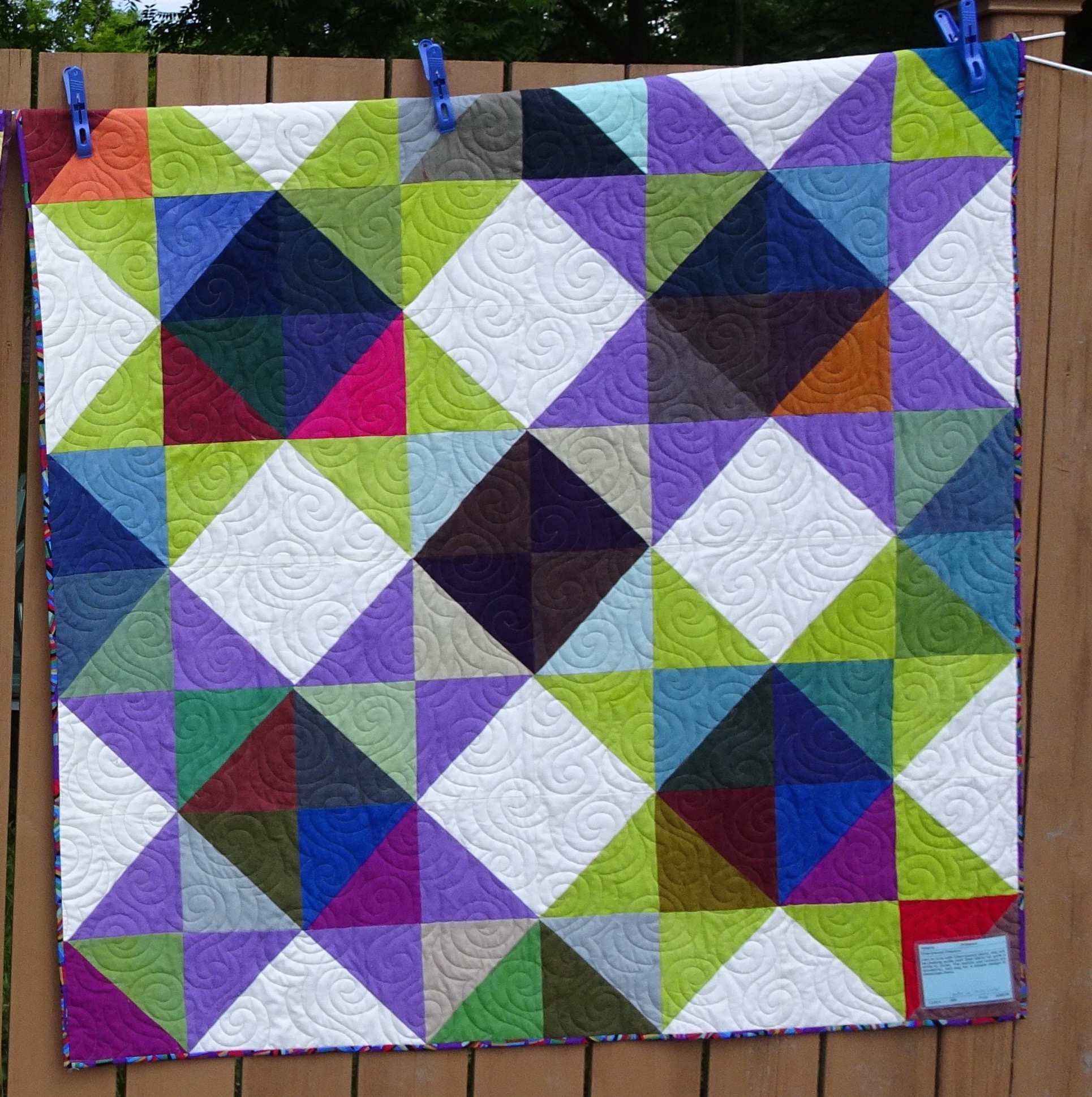 Baby Quilts In The Crayon Patch