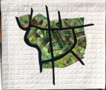 Map quilt of Black Creek Pioneer Village