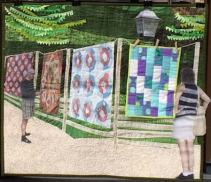 Quilts at the Creek first year!